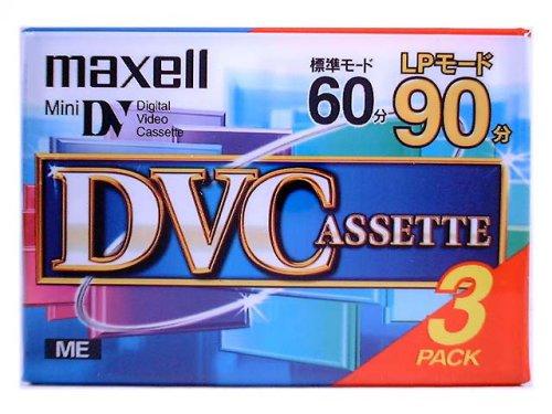 maxell DVM60SEN.3P MiniDVカセット 60分3巻パック