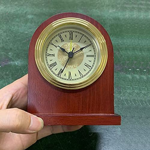 Vintage Wooden Table Clock Bedroom Max Sale special price 69% OFF Wo Bedside Snooze Alarm