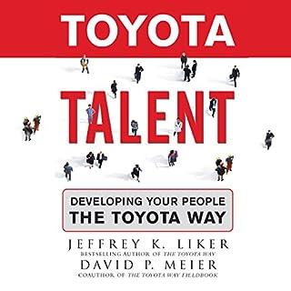 Toyota Talent audiobook cover art