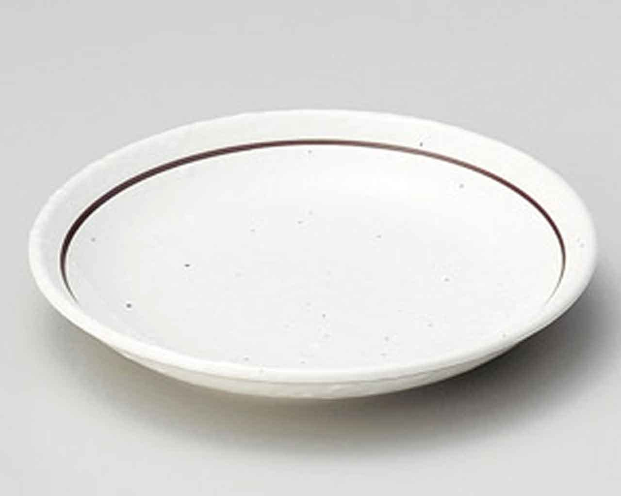 Kobiki Line 8inch Ranking TOP5 Set of 2 Super-cheap White Small porcelain Plates Made in