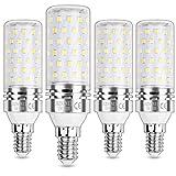 HZSANUE E14 Bombillas Maíz LED 15W, Tornillo Edison Bombilla, 3000K Blanco Cálido, 1500LM, Bombillas Incandescentes de 120W Equivalentes, No Regulable, Paquete de 4