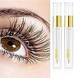 Lash Boosting Conditioning Primer, Lash Enhancing Serum Longer Thicker Looking Lashes, Rapid Lash Eyelash Growth Serum, Natural Eyelash & Eyebrow Enhancer 2PACK