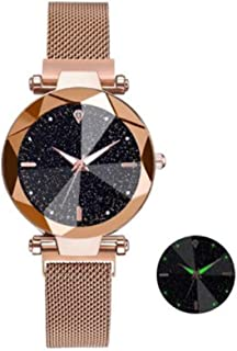 Starry Sky original Luxury women watch lumino wristwatch bracet plated gold