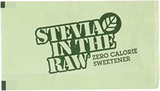 Stevia in the Raw Sweetener With Dextrose,1g Packet (Pack of 800)