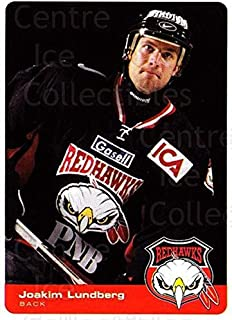 (CI) Joakim Lundberg Hockey Card 2002-03 Swedish Malmo Redhawks Team Issue 2 Joakim Lundberg