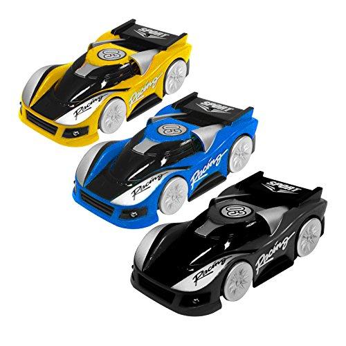 Eaxus® Climb Car Ferngesteuertes Auto - Wall Climber Spielzeugauto Fährt Wände und Decken Entlang