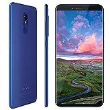 Vernee M6 Smartphone(2019), Display 5,7'', 4GB + 64GB Rom, Processore Octa-core, Batteria 3300mAh, Fotocamera 16MP e 13MP, Telefono Cellulare Dual Sim 4G, Blu [Versione Italiana]