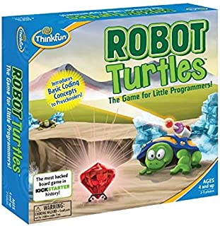 Robot Turtles STEM Toy and Coding Board Game for Preschoolers - Made Famous on Kickstarter, Teaches Programming Principles to Preschoolers