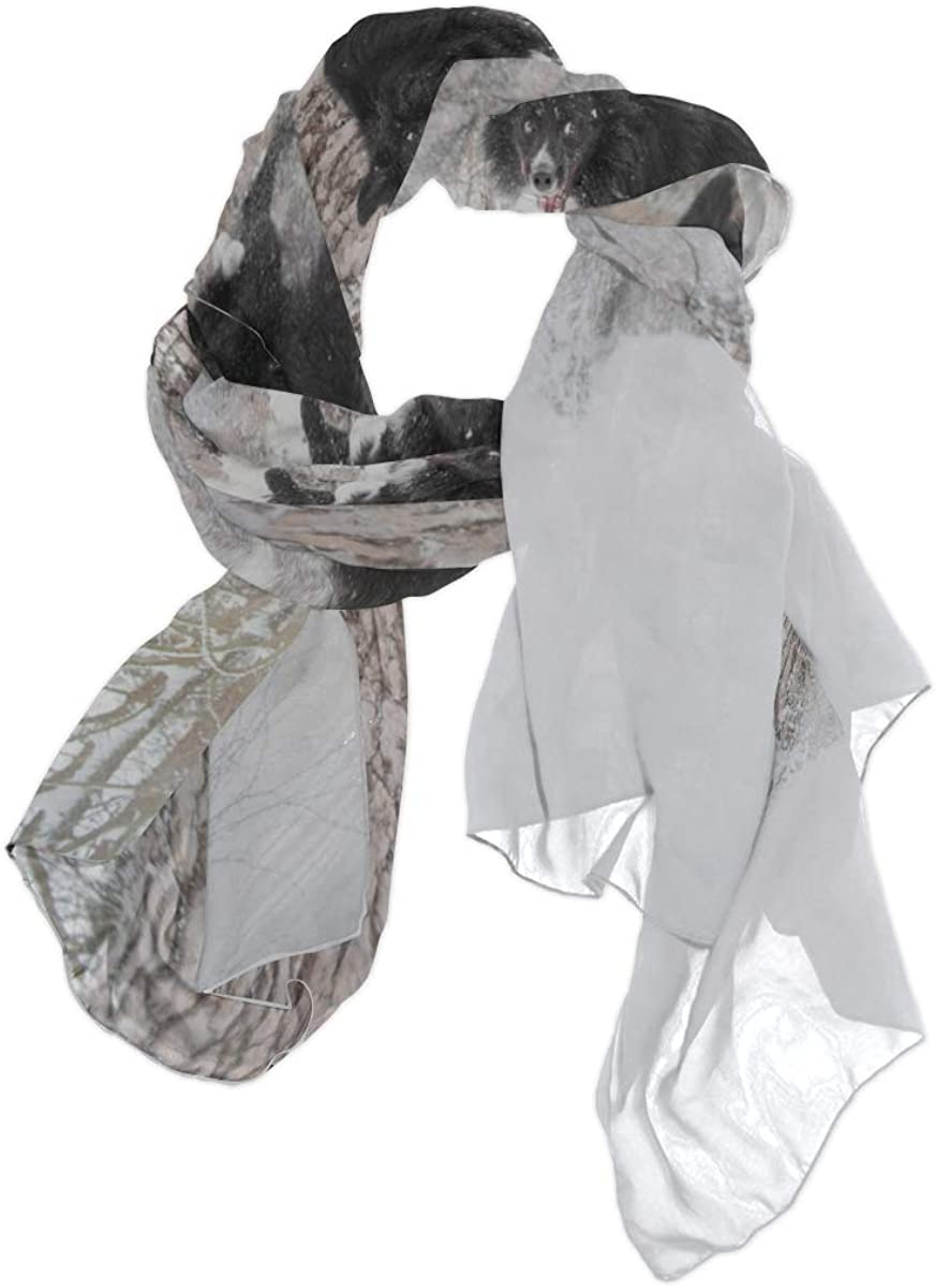 Long Scarf For Women Lightweight Ugly Black Jumping Dog Puppy Designer Scarf For Women Head Wrap Scarf Lightweight Print Scarves Lightweight Scarf Summer Fashion Scarfs For Women Lightweight