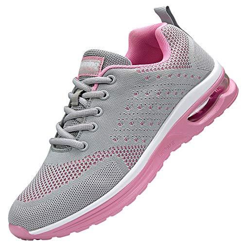 Nishiguang Women's Air Athletic Running Sneaker review