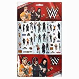 WWE Stickers, 6 Sheets, Each sheet 14 x 7cm with Sticker Album