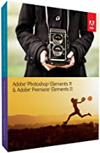 Adobe Photoshop Elements 11 & Premiere Elements 11 - Software de gráficos (1 usuario(s), Full, 7168 MB, 2048 MB, Intel Dual Core, ENG)