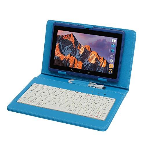 pas cher un bon Tablette avec écran tactile 7 pouces, tablette avec clavier (AZERTY), Android quadricœur…
