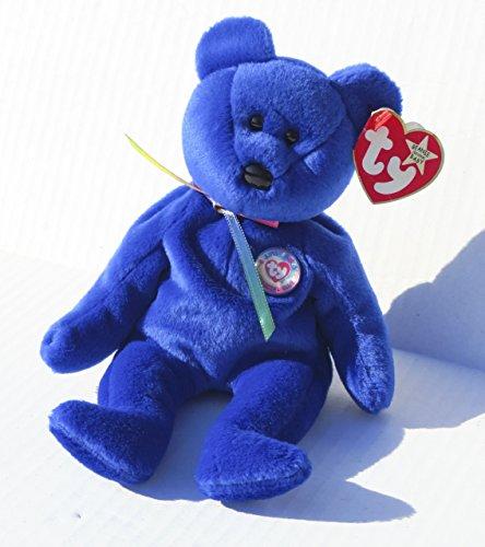 Ty Beanie Babies - 1998 Clubby the Bear (Retired)