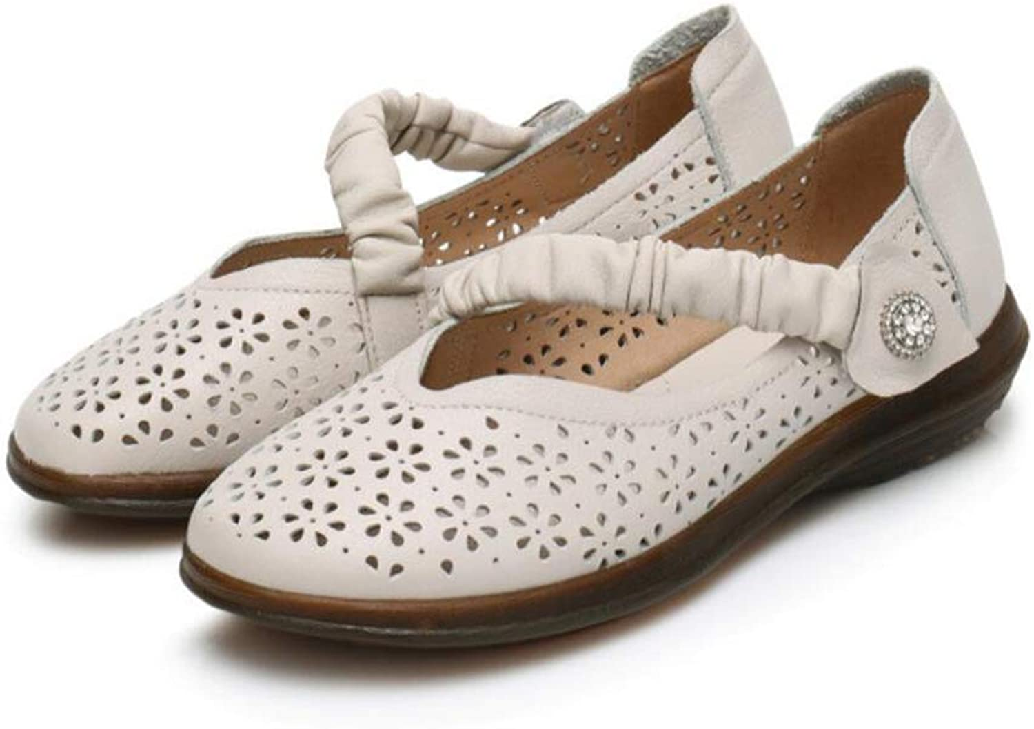 F1rst Rate Mary Jane Flats Women- Comfort Round Toe Ballet Casual Breathable Strap shoes