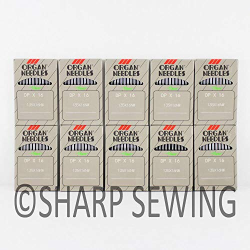 Best Review Of 100 Organ 135X17 Size#22 Walking Foot Sewing Machine Needles DPX17 DIX3
