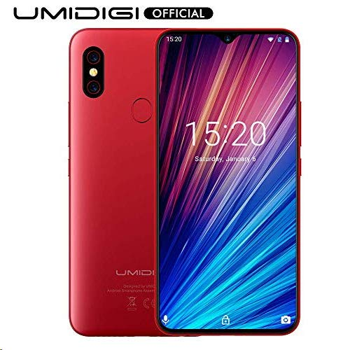UMIDIGI F1 Play Smartphone Libres Android 9 Pie Teléfono Inteligente Dual SIM 6.3