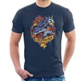 Cloud City 7 Friendship Tattoo Digimon Gabumon and Metal Gabumon Men's T-Shirt