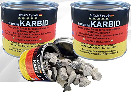 bri'X24T'you® KARBID**NEU***0.500KG bis 1,00KG(1.00KG) Premium KARBID Firma BRIN'X(Abfl.Ql.Rg.187319) Körn. 25-35(2xDose 0,5KG 1.00KG)