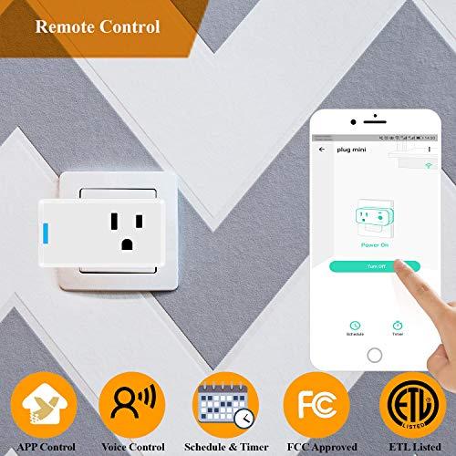 Smart Home Starter Kit, YoLink 1/4 Mile World's Longest Range Wireless Door Sensor, Water Leak Sensor, and Smart Plug…