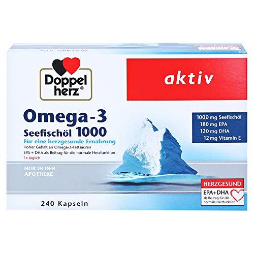 Doppelherz Omega-3 Seefischöl 1000 Kapseln