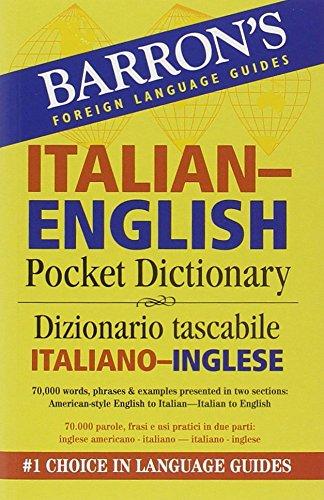 Barron's Italian-English Pocket Bilingual Dictionary (Barron's Pocket Bilingual Dictionaries)