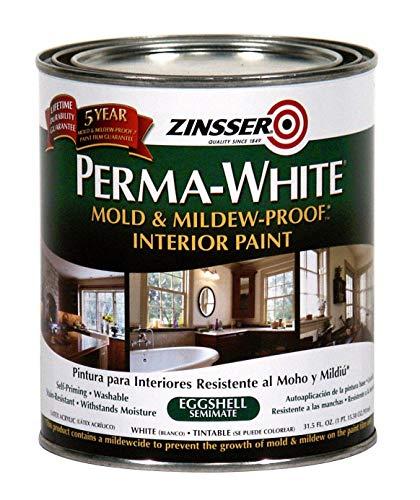 Product Image of the Rust-Oleum 2774 Zinsser Interior Eggshell, Perma White - New