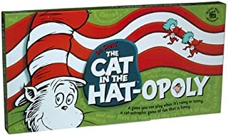 Cat in The Hat-OPOLY Monopoly Style Board Game