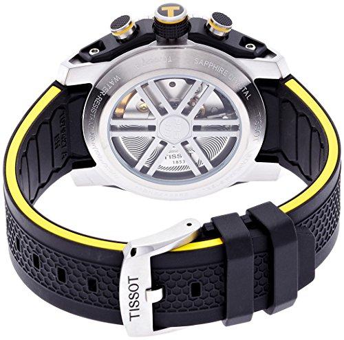 Tissot t079.427.27.057.01–Montre de Poignet, Bracelet en Silicone Noir