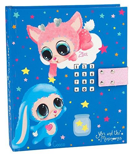 Ylvi & die Minimoonis 8383 - Tagebuch mit LED, Code und Sound