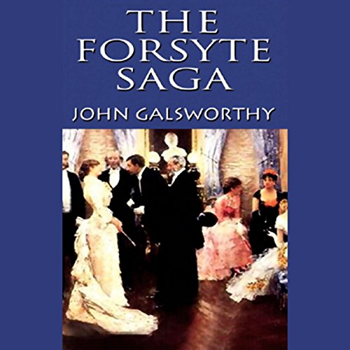 The Forsyte Saga audiobook cover art