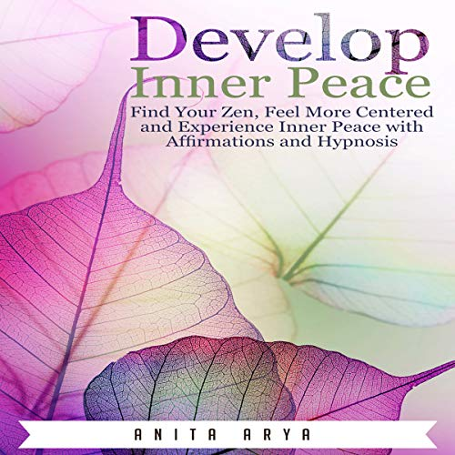 Develop Inner Peace audiobook cover art