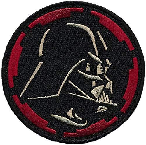 "Darth Vader Embroidered Patch [3.0 inch - ""Velcro Brand"" Fastener -D4]"