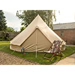 Bell Tent 4 metre with zipped in groundsheet by Bell Tent Boutique 6