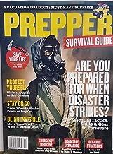 Prepper Survival Guide Magazine 2018 Are You Prepared When Disaster Strikes (gas mask)