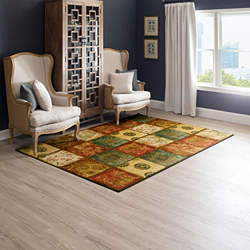 Mohawk Home Multicolor Artifact Panel Area Rug (2'6'x3'10'), Model Number: 11493 416 030046