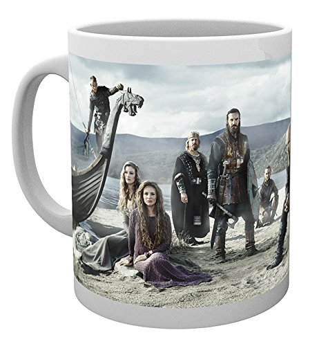 GB Eye LTD, Vikings, Beach, Taza