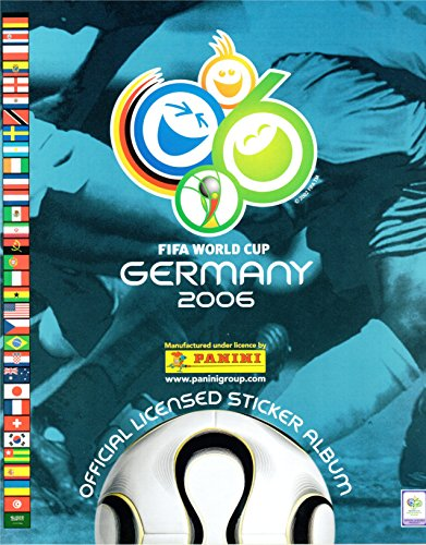 Álbum mundial de fútbol Alemania 2006 (English Edition)