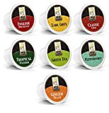 Bradford Tea - 48 Ct. Tea Variety K-Cup® Pods, Compatible with 2.0 K-Cup® Brewers