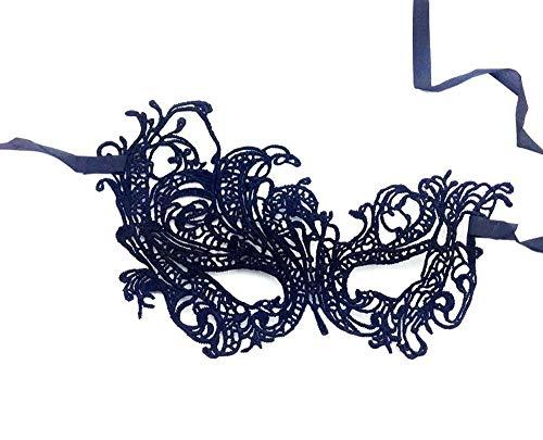 Uteruik - Máscara Veneciana de Encaje para Mujer