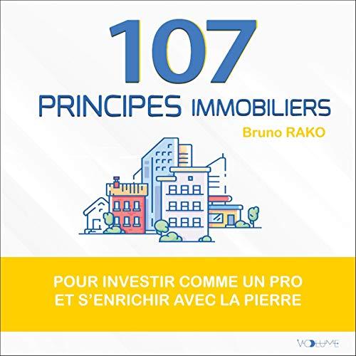 Couverture de 107 principes immobiliers