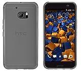 mumbi Hülle kompatibel mit HTC 10 Handy Case Handyhülle, transparent schwarz