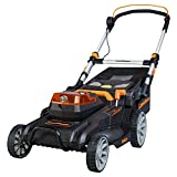 LawnMaster 19-Inch 60V Max Brushless Lawn Mower Cordless Lawnmower with 5.0Ah Battery & Fast Charger