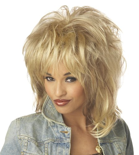 California Costumes Women's Rockin' Soul Wig, Blonde, One Size