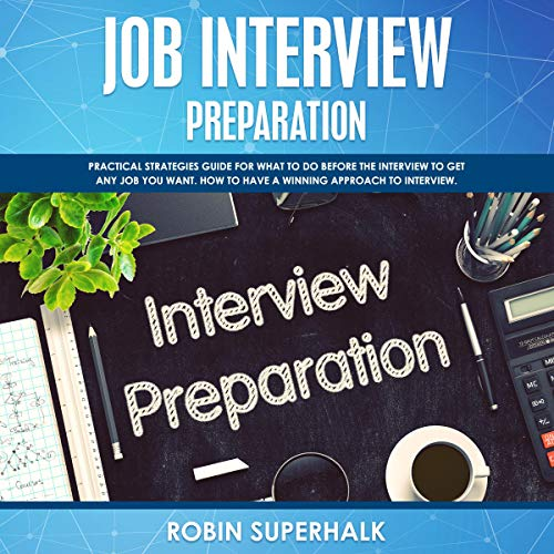 Job Interview Preparation  By  cover art