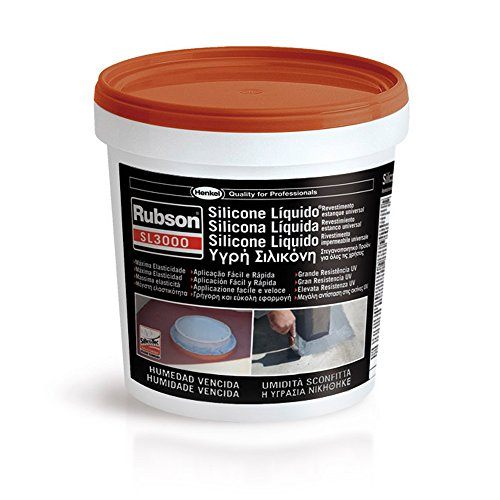 Henkel 32839-30 - Sl3000 Rubson, flüssiges Silikon, 1 kg, Farbe: Terrakotta