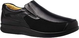 fe0e8e0eb Sapato Masculino Joanete em Couro Preto Floater 3056 Doctor Shoes