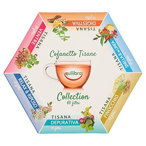 Equilibra Cofanetto Tisane, Multicolore, 0.32 Gr