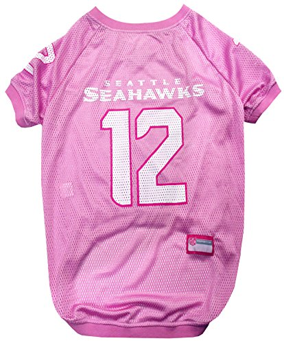 Pets First NFL Seattle Seahawks No.12th Man Jersey, Medium