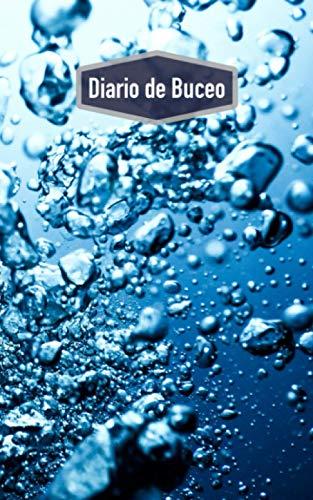 Diario de Buceo: Cuaderno para buceadores: espacio para 100 inmersiones (motivo: burbujas)